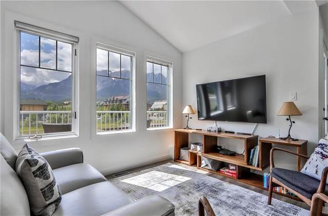 1306 Bow Valley Trail 3B, Canmore, AB T1W 1N6 (#C4305158) :: Calgary Homefinders