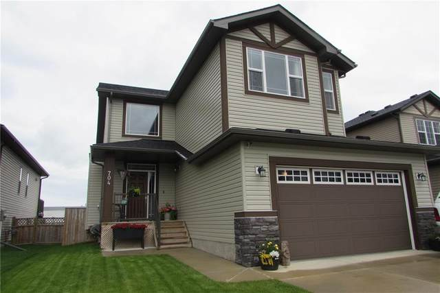 704 Ranch Crescent, Carstairs, AB T0M 0N0 (#C4305229) :: Team J Realtors