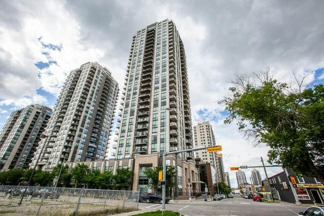 1111 10 Street SW #1706, Calgary, AB T2R 1E3 (#C4305232) :: Canmore & Banff