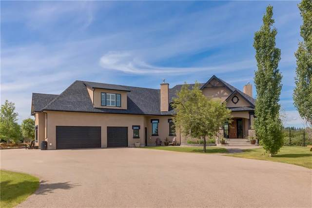 2174 Springbank Heights Way, Rural Rocky View County, AB T3Z 1C7 (#C4305244) :: Canmore & Banff