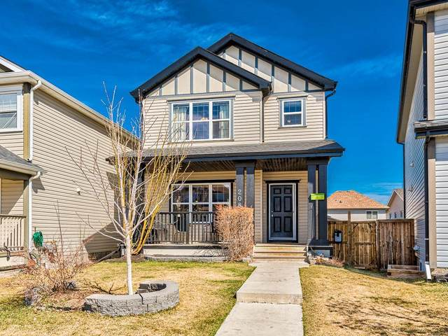 208 Copperstone Garden(S) SE, Calgary, AB T2Z 0R8 (#C4305453) :: Calgary Homefinders