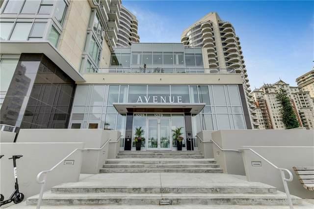 1025 5 Avenue SW #906, Calgary, AB T2P 0P2 (#C4305944) :: Virtu Real Estate