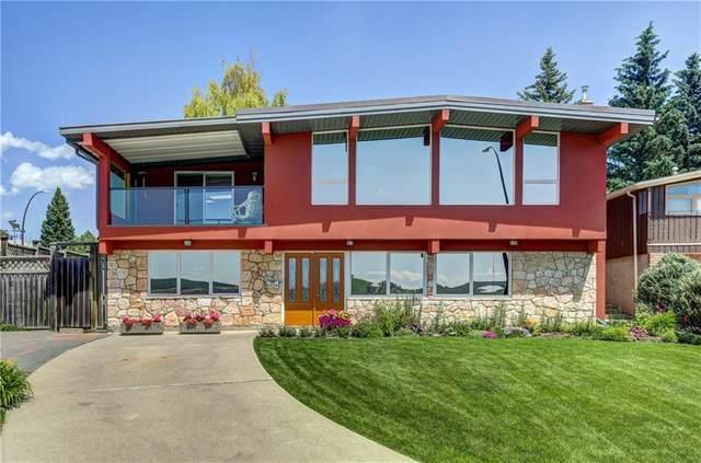 6924 Silverview Drive NW, Calgary, AB T3B 3K9 (#C4306036) :: Team J Realtors