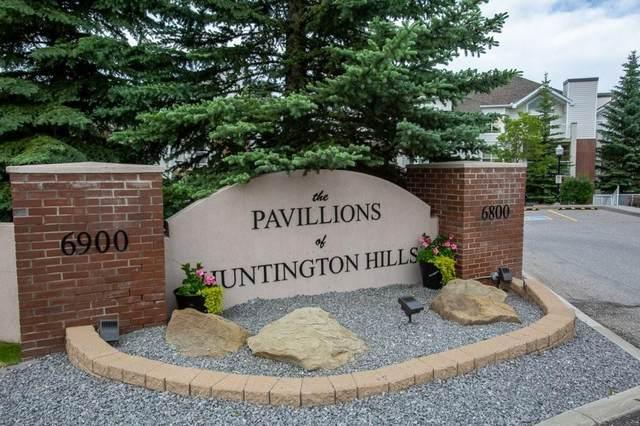 6800 Hunterview Drive NW #112, Calgary, AB T2K 6K5 (#C4306121) :: The Cliff Stevenson Group