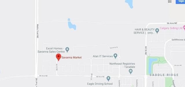45 Savanna Boulevard NE A-106, Calgary, AB T3N 1B9 (#C4306379) :: Virtu Real Estate