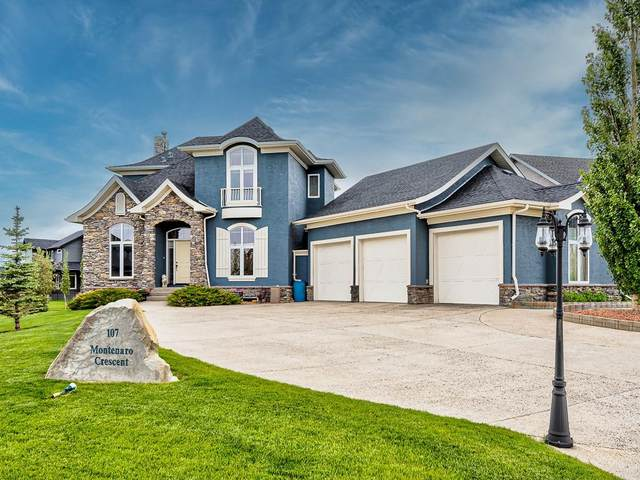 107 Montenaro Crescent, Rural Rocky View County, AB T4C 0A7 (#C4306538) :: Redline Real Estate Group Inc