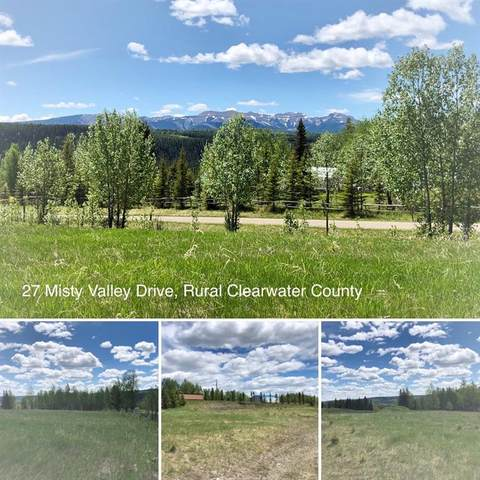 27 Misty Valley Drive, Rural Clearwater County, AB T4T 2H0 (#CA0153790) :: Canmore & Banff