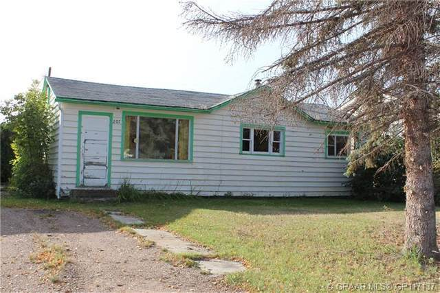 207 2nd Avenue SW, Manning, AB T0H 2M0 (#GP117137) :: Canmore & Banff