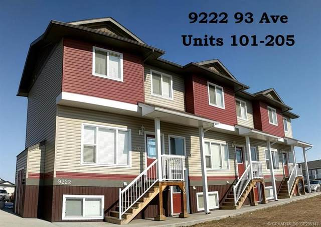 9201 93A Street, Grande Prairie, AB T8V 4C7 (#GP205343) :: Team Shillington | eXp Realty