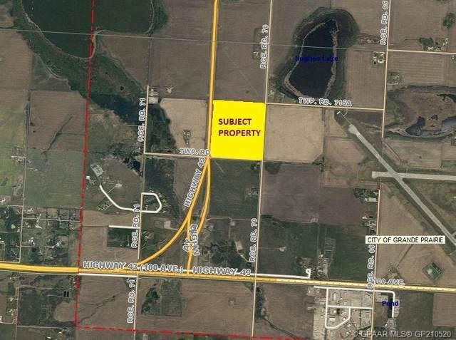 TWSP RD 715 Range Road 70 Lot 1, Grande Prairie, AB T8V 4C7 (#GP210520) :: Team Shillington | eXp Realty