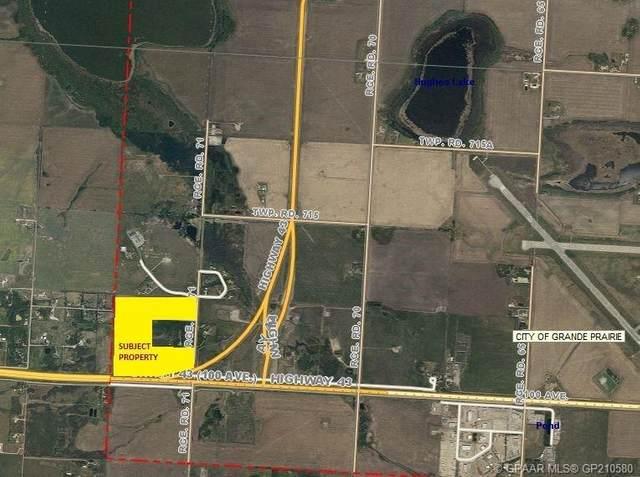 HWY 43x Hwy 43/Rrd 71, Grande Prairie, AB T8V 0X6 (#GP210580) :: Team Shillington | eXp Realty