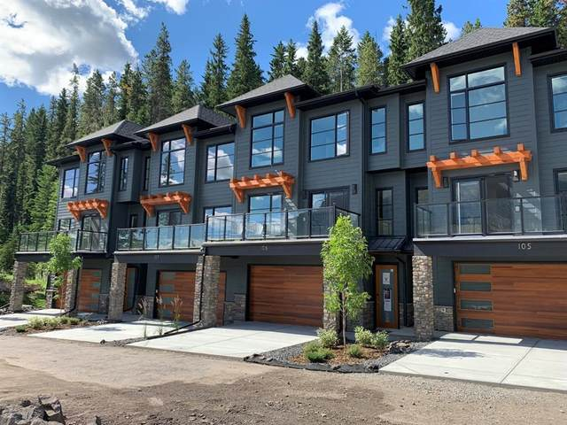 110 Stewart Creek Landing #105, Canmore, AB T1W 0E1 (#A1014543) :: Redline Real Estate Group Inc