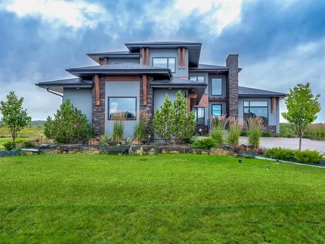 70 Cimarron Estates Drive, Okotoks, AB T1S 0R2 (#A1018321) :: Canmore & Banff