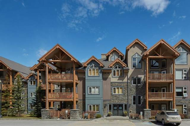 175 Crossbow Place #104, Canmore, AB T1W 3H7 (#A1019572) :: Redline Real Estate Group Inc