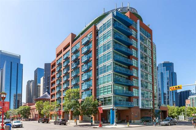 205 Riverfront Avenue SW #509, Calgary, AB T2P 5K4 (#A1020549) :: The Cliff Stevenson Group