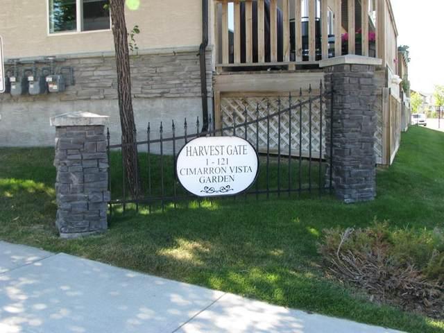 77 Cimarron Vista Gardens, Okotoks, AB T1G 0G3 (#A1024170) :: Canmore & Banff