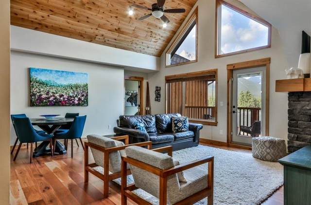 707 Spring Creek Drive #407, Canmore, AB T1W 0K7 (#A1027797) :: Canmore & Banff