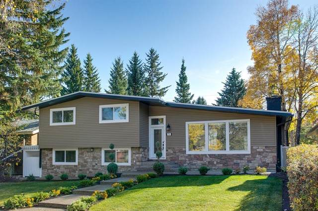 79 Cherovan Drive SW, Calgary, AB T2V 2P3 (#A1031418) :: Canmore & Banff