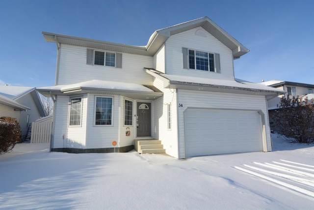 34 Logan Close, Red Deer, AB T4R 2N8 (#A1032420) :: Redline Real Estate Group Inc