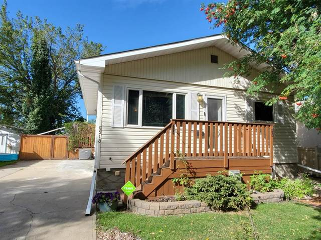 5218 45 Street, Camrose, AB T4V 1E9 (#A1032899) :: Canmore & Banff