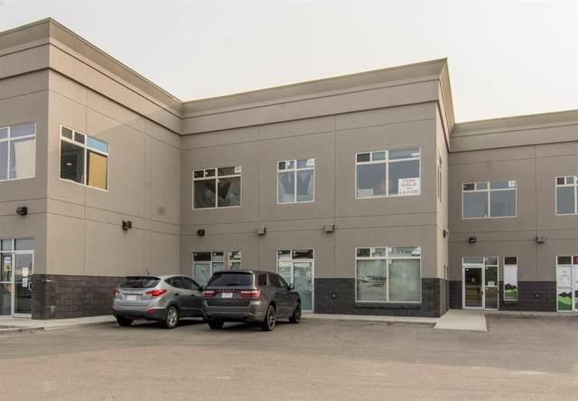 8801 Resources Road #105 & #107, Grande Prairie, AB T8V 3A6 (#A1034241) :: Canmore & Banff