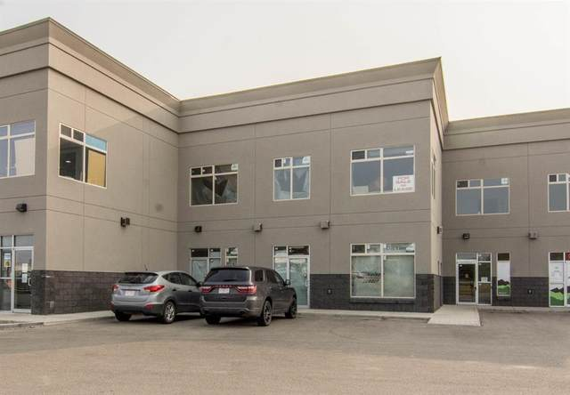 8801 Resources Road #205 & #207, Grande Prairie, AB T8V 3A6 (#A1034305) :: Canmore & Banff
