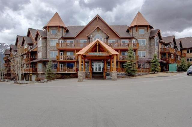 30 Lincoln Park #408, Canmore, AB T1W 3E9 (#A1034554) :: The Cliff Stevenson Group