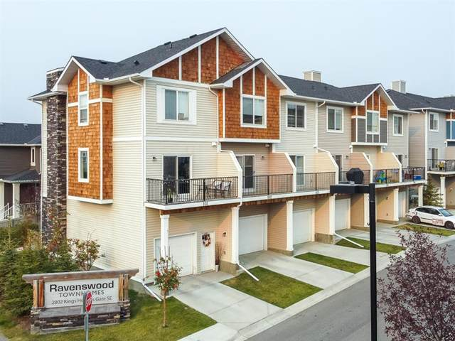 2802 Kings Heights Gate SE #102, Airdrie, AB T4A 0T3 (#A1035106) :: Team J Realtors