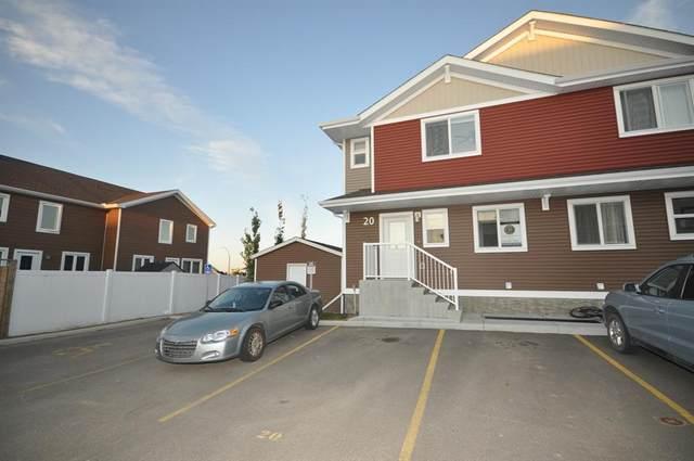 4716 College Avenue #20, Lacombe, AB T4L 0J5 (#A1036464) :: Canmore & Banff
