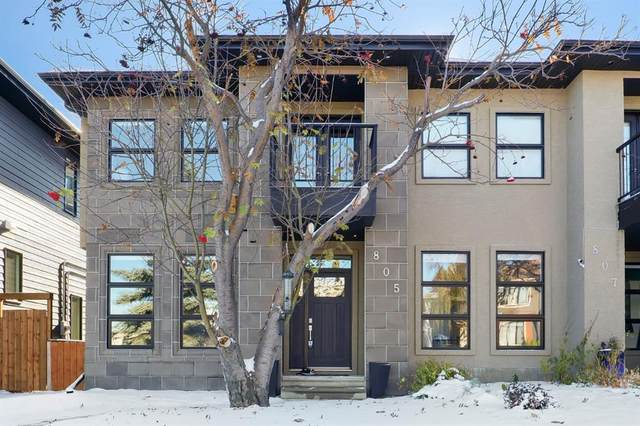 805 23 Avenue NW, Calgary, AB T2M 1T3 (#A1036716) :: Canmore & Banff