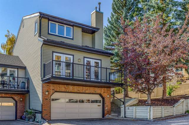 448 Strathcona Drive SW #15, Calgary, AB T3H 1M3 (#A1039875) :: Canmore & Banff
