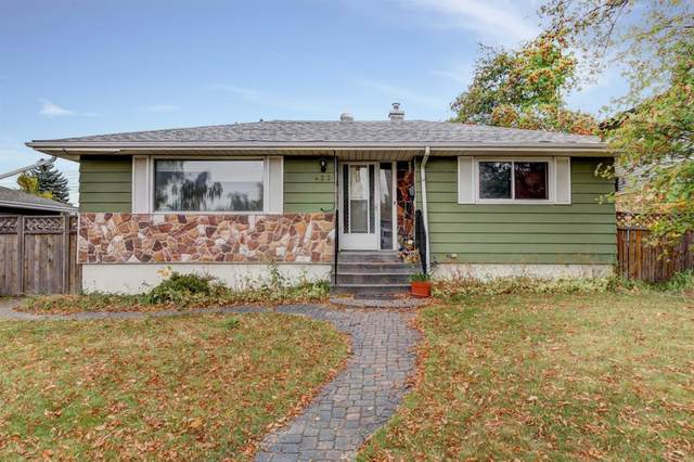 423 Hendon Drive NW, Calgary, AB T2K 2A1 (#A1039924) :: Canmore & Banff