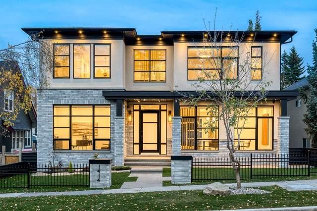 1414 Scotland Street SW, Calgary, AB T3C 2L4 (#A1041464) :: Canmore & Banff