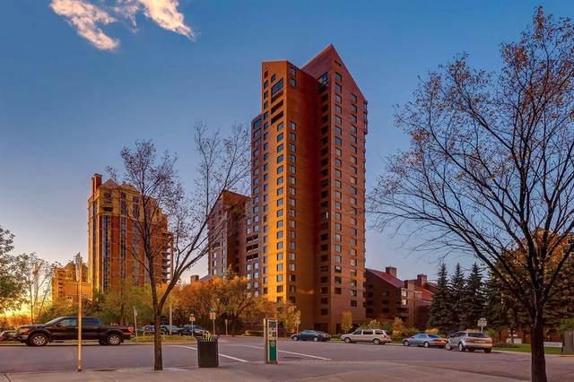 500 Eau Claire Avenue SW 201A, Calgary, AB T2P 3R8 (#A1041930) :: Canmore & Banff