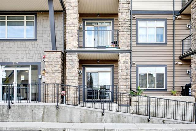 117 Copperpond Common SE #121, Calgary, AB T2Z 5E2 (#A1042803) :: Canmore & Banff