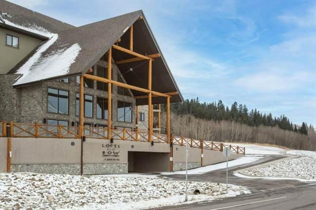 77 George Fox Trail #417, Cochrane, AB T4C 0N1 (#A1043814) :: Western Elite Real Estate Group