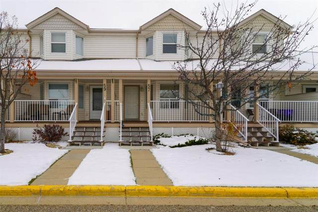 33 Donlevy Avenue #57, Red Deer, AB T4R 3B6 (#A1044484) :: Canmore & Banff