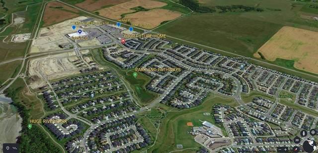 21 Cimarron Vista Gardens, Okotoks, AB T1S 0G2 (#A1052331) :: Redline Real Estate Group Inc