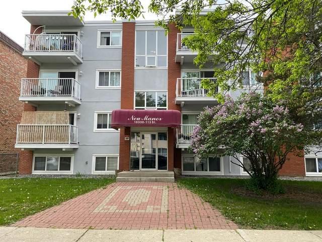 10330 113 Street NW #106, Edmonton, AB T5K 1P6 (#A1064528) :: Calgary Homefinders