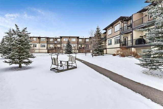 43 Sunrise Loop SE #211, High River, AB T1V 0A8 (#A1086985) :: Calgary Homefinders