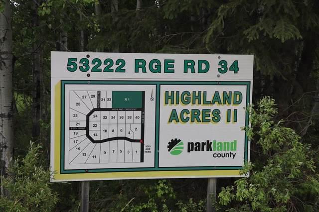 22 , 53222 Range Road 34, Rural Parkland County, AB T7X 3N4 (#A1088607) :: Calgary Homefinders