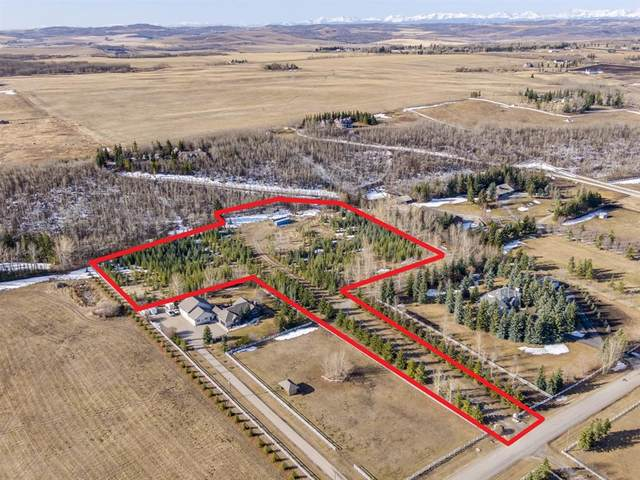64083 198 Avenue W, Rural Foothills County, AB T0L 0X0 (#A1091710) :: Calgary Homefinders