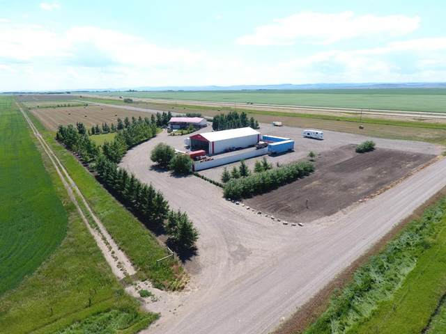 274047 Twp Rd 144 - N. Of Stavely, Rural Willow Creek M.D., AB T0L 1Z0 (#A1093224) :: Dream Homes Calgary