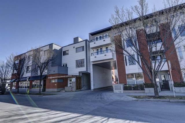 116 7A Street NE #218, Calgary, AB T2E 0C4 (#A1095566) :: Redline Real Estate Group Inc