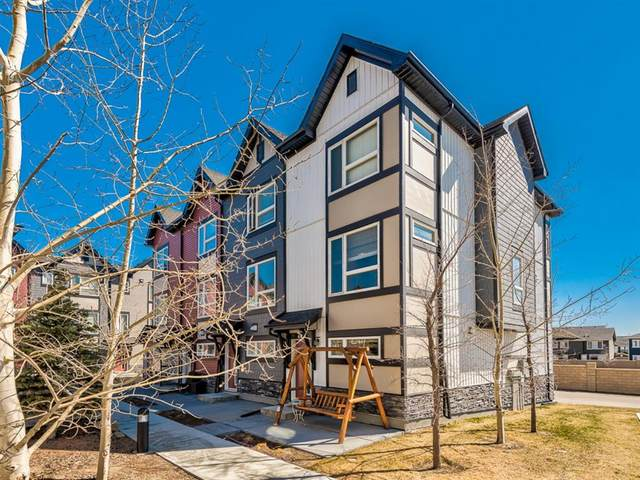11 Evanscrest Mews NW #402, Calgary, AB T3P 0Y1 (#A1095626) :: Redline Real Estate Group Inc