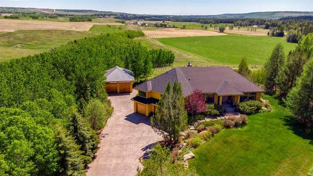 30149 River Ridge Drive, Rural Rocky View County, AB T3Z 3L1 (#A1096195) :: Calgary Homefinders