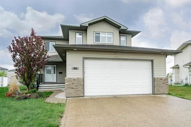 34 Pinnacle Point, Grande Prairie, AB T8W 2Y7 (#A1103618) :: Calgary Homefinders