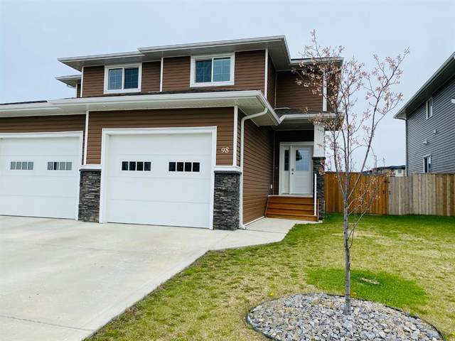 98 Rancher's Close, Lacombe, AB T4L 1X1 (#A1104519) :: Calgary Homefinders