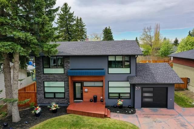 37 Roseview Drive NW, Calgary, AB T2K 1N8 (#A1110548) :: Calgary Homefinders