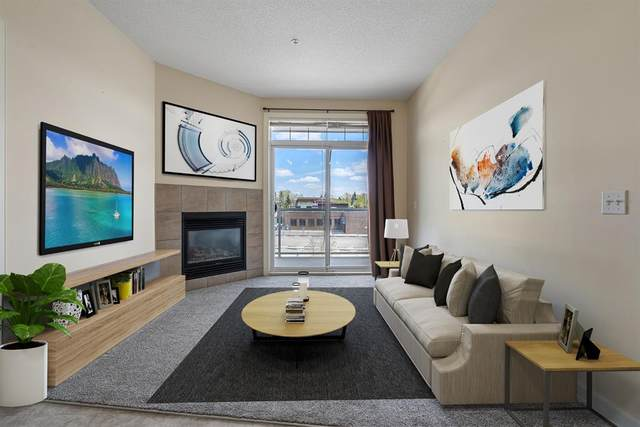 132 1 Avenue NW #302, Airdrie, AB T4B 3H4 (#A1111133) :: Calgary Homefinders